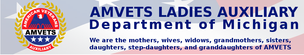Amvets Ladies Auxiliary Dept. of Michigan